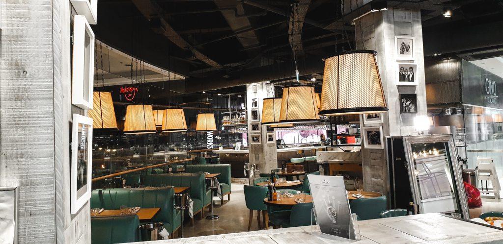 Gino D'Acampo Pizza and Prosecco Bar Interior
