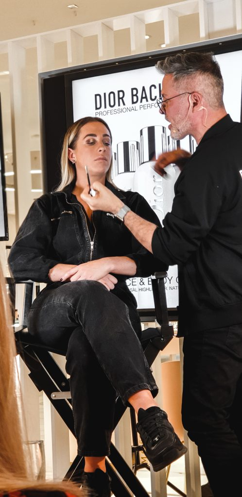 During the make over