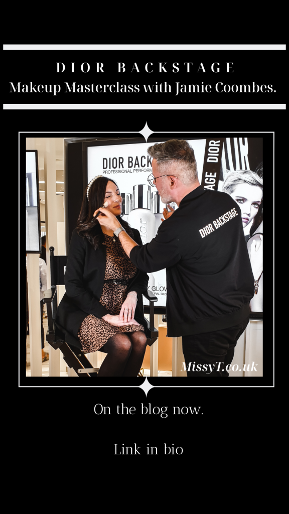 Dior Backstage Make Up Masterclass Jamie Coombes MUA