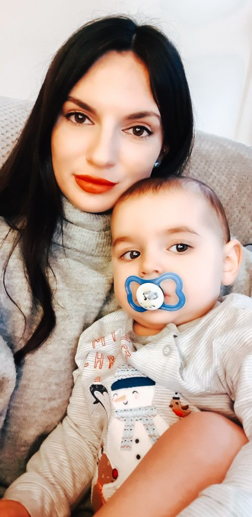 Me, My son & My new lips